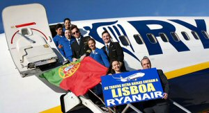 New Lisbon Base for Ryanair